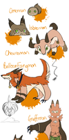 Chevremon evo line by Draco-Digi
