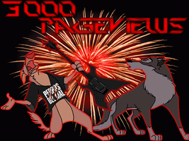 3000 Pageviews by Wolf-FX-Alex-Balto