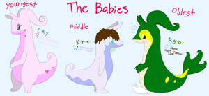 The Babies by XDTheSnivy