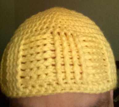 Yellow Basket Weave Cap by Anime-Apothecary
