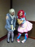 Shutocon 2012: Derpy and Pinkie by BigAl2k6