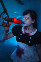 bioshock little sister by TheOfficialGliss
