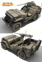 Willys Jeep by mavhn