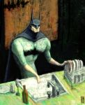 Batman at home by gabrio76