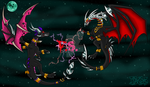 CE: The Dark Goddess VS Zirra by Ezallyia