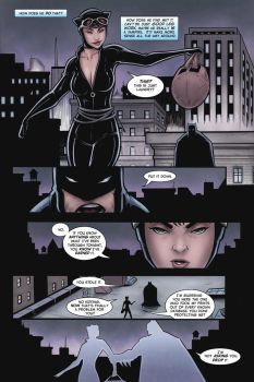 Catwoman pg.1 sample (finished) by belgerles