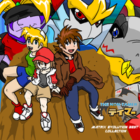 Digimon Non-Tamer Album Cover by BlueIke