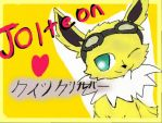 jolteon by Sushigirlbecky