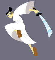 Rule 63: Samurai Jack by DisfiguredStick