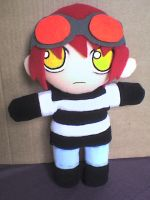 Now a smaller matt plushie XD by VioletLunchell