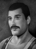 Freddie Mercury by zetcom