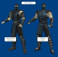 MK9: Sub-Zero (Primary and Alternate, Remxied) by KoDraCan