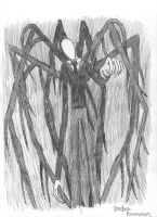 HM entry #1/31: the faceless Slenderman by jorbyman