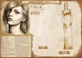 Character Sheet: Aralyn by CristianaLeone