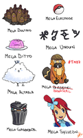 + MEGAEVOLUTIONS ARE THE BEST + by KyseL