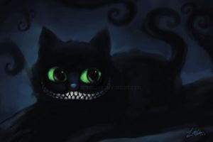 cheshire cat by leamatte