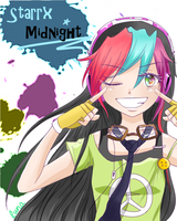 Contest entry: Starrx Midnight by 1LunaPrincess1