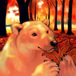 Autumn Icon - L. A. Turner by thornwolf
