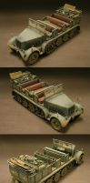 sdkfz 7 by Plastichuan