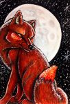 ACEO: Night's Tempest by DanielleMWilliams