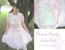 Princess Serenity Lolita Skirt by milky-tales