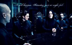 Snape at Malfoy Manor by Annyssek