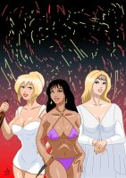 Bakshi Ladies - Holli, Teegra, Galadriel by adamantis