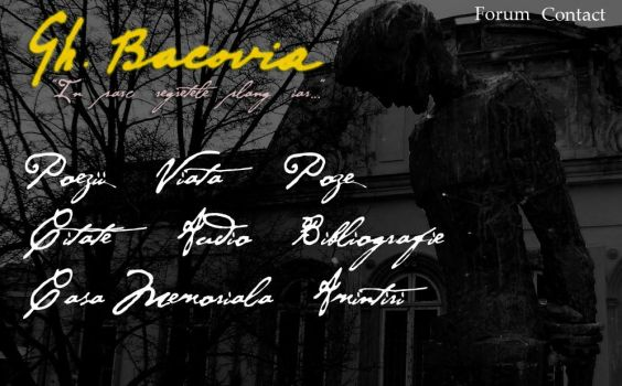 George Bacovia by mad-and