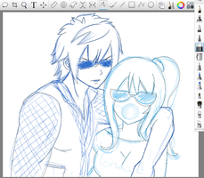 WIP Announcement Gruvia by Chsabina