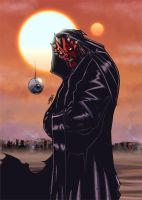Darth Maul by RecklessHero