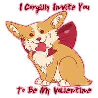 Corgi Valentine by Thomisus