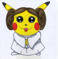 """Princess Leia Organa"" Chu by pikabellechu"