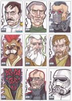 Star Wars G6 cards batch 5 by NORVANDELL