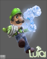 SUPER LUIGI RPG by Vital-Dynamite