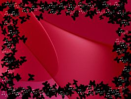 Red and Black Background by Laurelio
