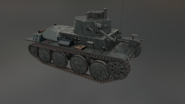 PzKpfw 38(t) 6 by LordTruewulf