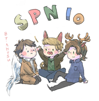 [SPN] TEAM FREE WILL! by Ahtsu