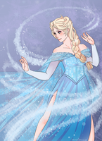 The Ice Queen Elsa by xxsymmetryxx