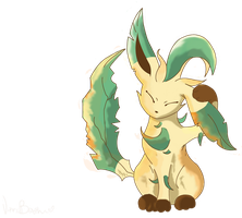 just leafeon by pinknailpolish89