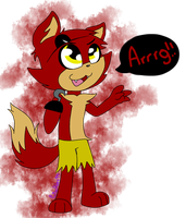 Foxy Again X3 by CrissHdez99
