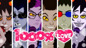 1000% Homestuck Love by VMa3