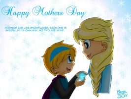 Frozen Mothers Day by Sweatshirtmaster
