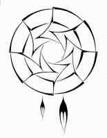 Tribal Dreamcatcher by darkrage