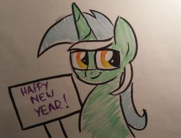 Lyra has a Message for You by drawponies