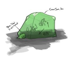 Gelatinous blob by Syrupjuice