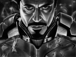 TONY STARK FINAL PRINT by corysmithart