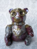 Steampunk - Industrial Bear by tanyadavisart