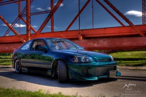 HDR Civic 3 by Nebey