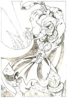 Thunder_God_Pencils by vonblinden22