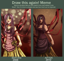 Before and After Meme by Aniew
